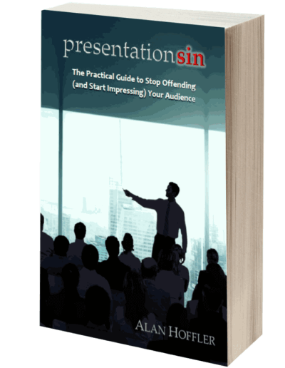 Presentation Sin Speaking Tips Book Alan Hoffler