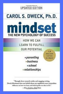 Mindset Book by Carol Dweck