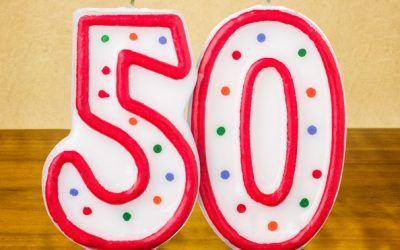Turning Fifty: My One Word for the Year