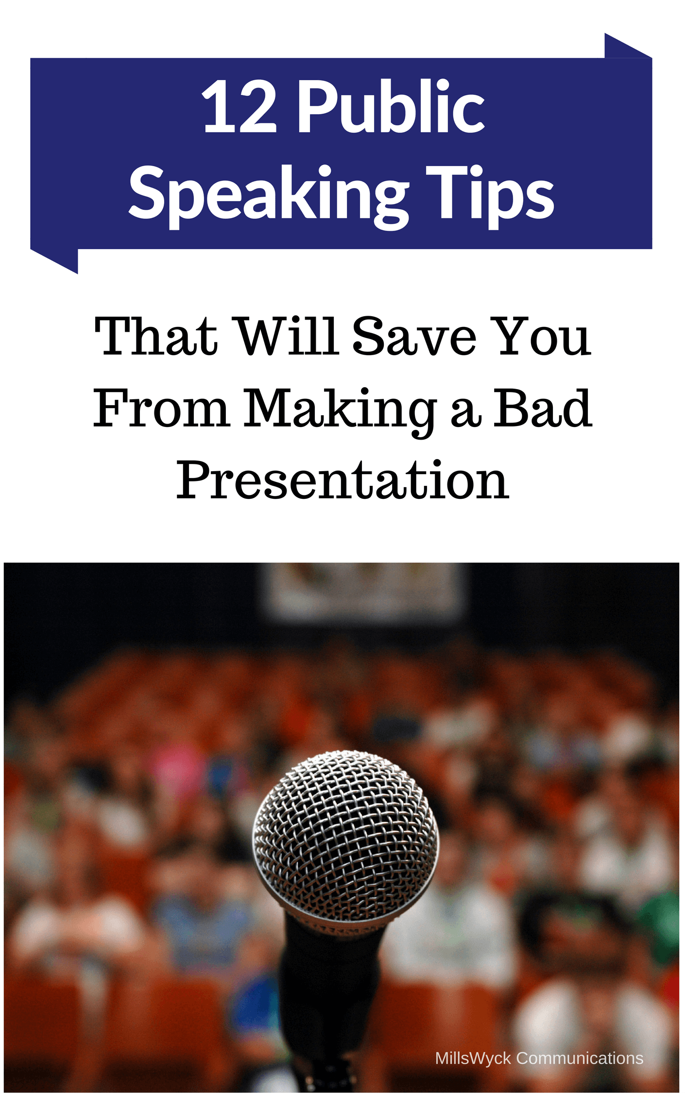 Ebook Twelve tips for public speaking