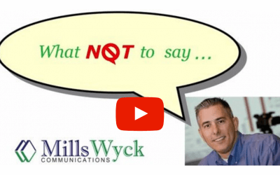 Public Speaking Don'ts: What NOT to Say