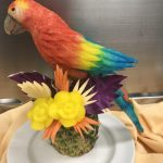 food sculpture bird