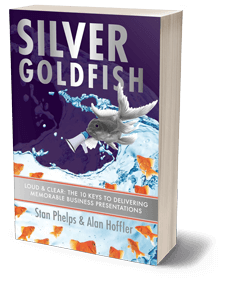 Silver Goldfish Book Cover Business Presentations