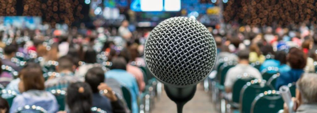 public speaker microphone