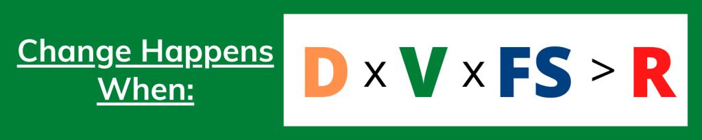 formula for change